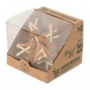 Puzzle 3D – trokuti bambus