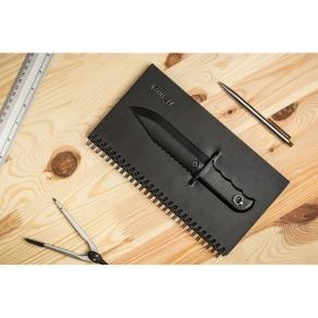 Bilježnica – Nož 3D