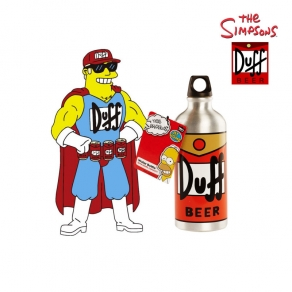 The Simpsons - metalna boca Duff Beer, 500 ml