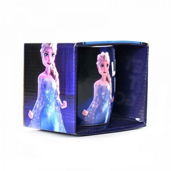 Disney - šalica s metalik efektom Frozen