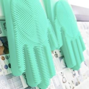 Silikonske rukavice za čišćenje, 2 kom