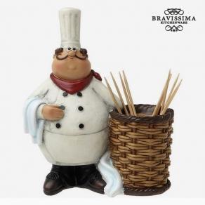Držač za čačkalice - kuhar