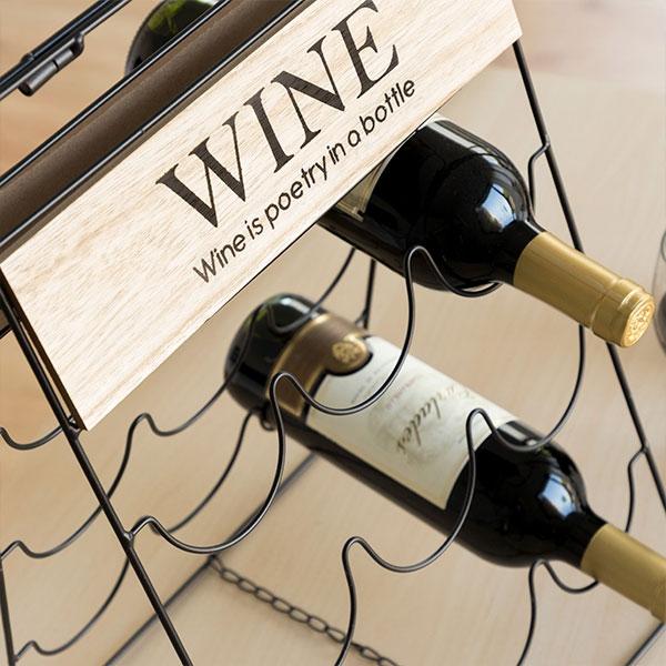 Sklopivi stalak za 9 boca - Wine