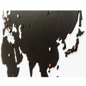MiMi Innovations – Drvena karta svijeta 180×108 cm