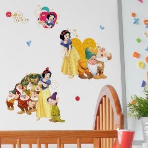Dekorativna naljepnica - Disney Snjeguljica