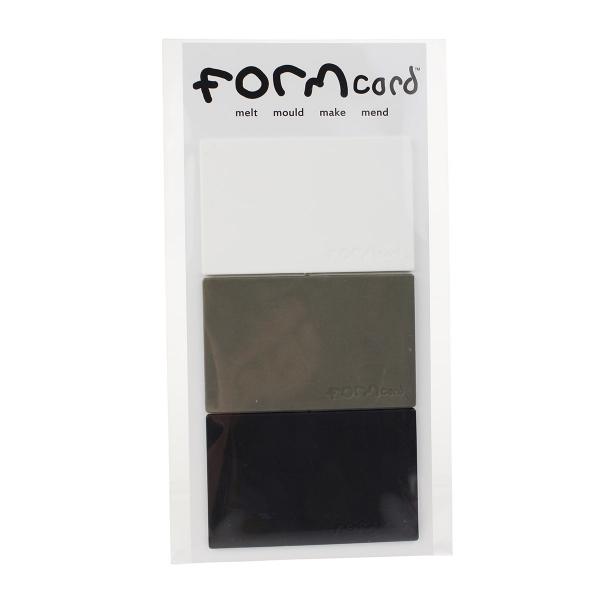 FORMcard - crno-bijeli, 3 kom