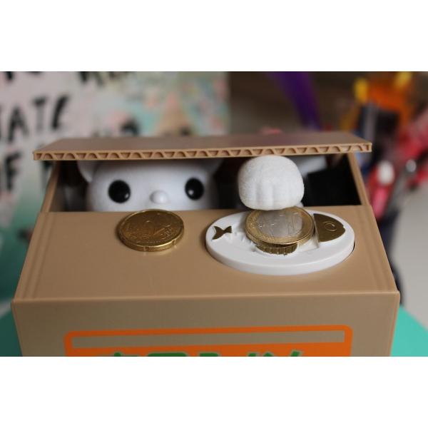 Automatska štedna kasica maca