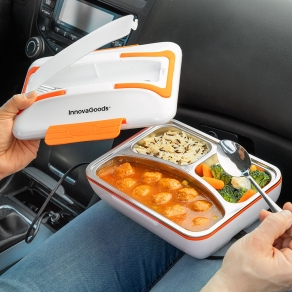 Električna kutija za ručak s grijačem za automobil