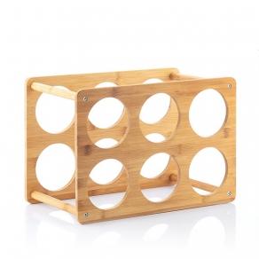 Stalak za 6 boca bambus