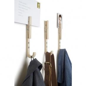 Kuke za odjeću - štipaljke, 3 kom
