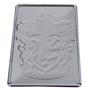 Harry Potter - ukrasna metalna pločica Gryffindor, 30 x 20 cm