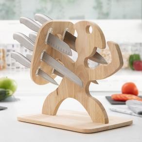 Set noževa na stalku - Spartanac, 6 dijelova