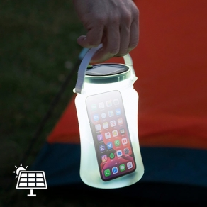 LED silikonski solarni svjetleći spremnik