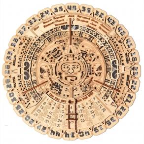 Wood Trick drvena maketa – Majanski kalendar