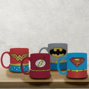 DC – šalice za espresso Justice League, 4 kom