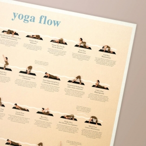 Calm Club - Poster yoga vježbe
