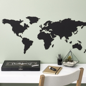 Luckies - Karta svijeta - školska ploča, 100 cm x 45 cm