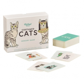 Ridley's - Igraće karte Costumed Cats Memory Game