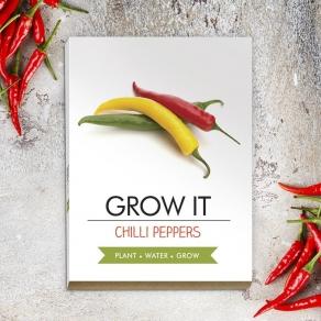Gift Republic - Poklon set za uzgoj - čili papričice