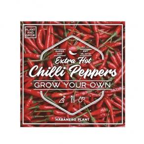 Gift Republic - Poklon set za uzgoj - habanero papričice