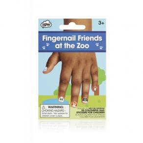Naljepnice za nokte - Zoo