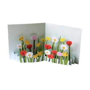3D Čestitka - Cvijeće