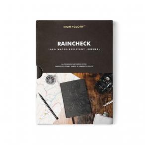 Iron & Glory - Vodootporna bilježnica Raincheck