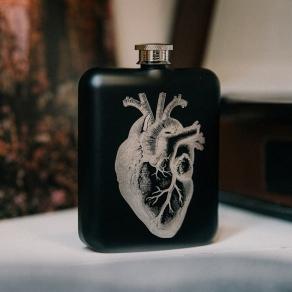 Iron & Glory - Poklon set pljoska srce