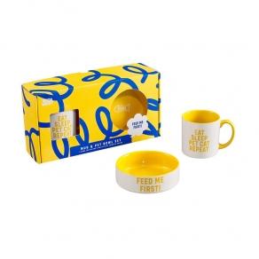 W&W - Poklon paket šalica + zdjelica - mačka