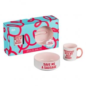W&W - Poklon paket šalica + zdjelica - pas