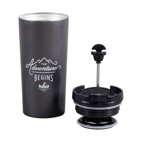 Gentlemen's Hardware - Putna termosica i preša za kavu No. 327