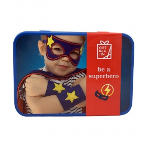 Gift in a Tin - Set za superjunake