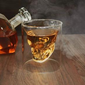 Čašica za žestoko piće - 3D lubanja