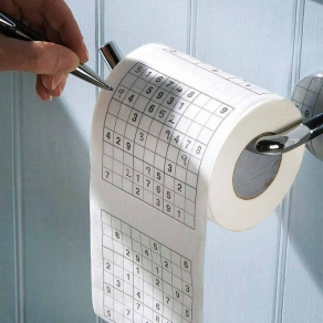 Toaletni papir – sudoku