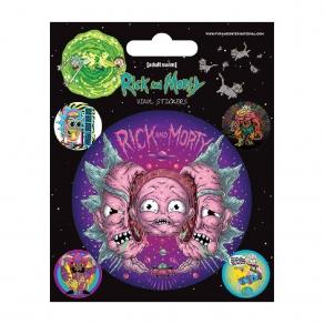Rick & Morty - set naljepnica Psychedelic Visions