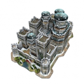 Game of Thrones - 3D puzzle Winterfell, 910 kom