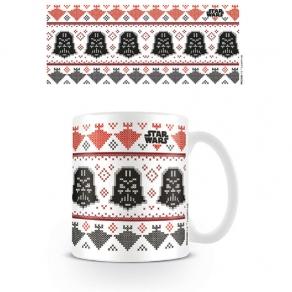 Star Wars - šalica Darth Vader Christmas