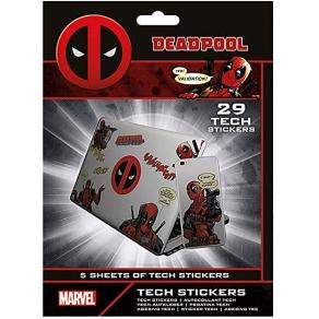 Deadpool - set naljepnica, 29 kom