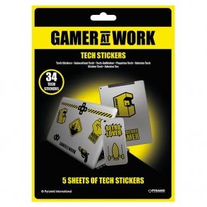 Gamer at Work - set naljepnica, 34 kom