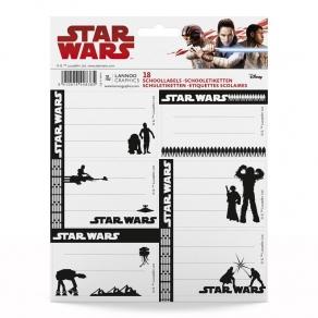 Star Wars - set školskih naljepnica