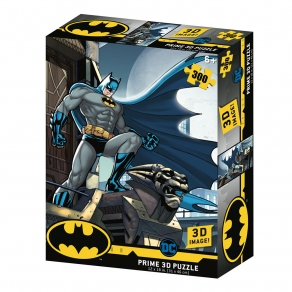 DC - puzzle 3D efekt Batman, 300 kom