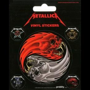 Metallica - set naljepnica, 5 kom