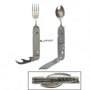 MIL-TEC – Multi alat – pribor za jelo 6u1